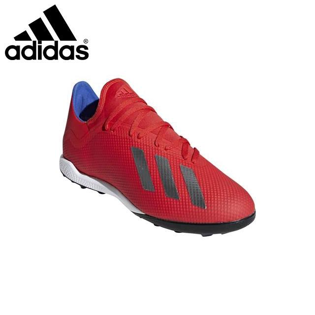 アディダス メンズ サッカー スパイク シューズ 靴 エックス 18.3 TF 軽量 土・人工芝グラウンド対応 BB9399 adidas