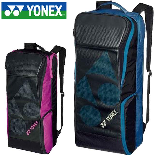 ヨネックス テニス ラケットバッグ ボックスラケットバッグ6(リュックツキ) YONEX BAG1929 バックパック ショルダーポーチ テニスラケット6本収納 一般用 ユニセックス メンズ レディース