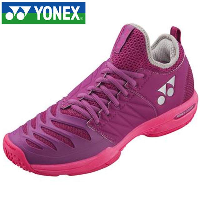 ヨネックス テニス クレー・オムニコート レディース パワークッションフュージョンレブ3LGC YONEX SHTF3LGC 靴 シューズ パワークッションプラス搭載 ローカット 3E設計 一般用 レディース