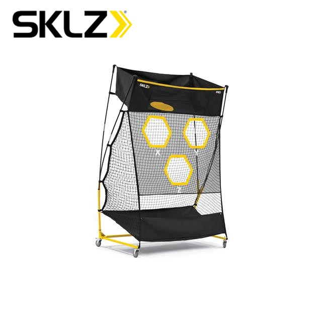 スキルズ アメフトトレーニング用品 QBトレーナープロ レシーブターゲット3ヶ所(肩、胸、フェードパス・タッチパス時の頭上)を狙うパストレーニングに最適 クォーターバック 028587 SKLZ