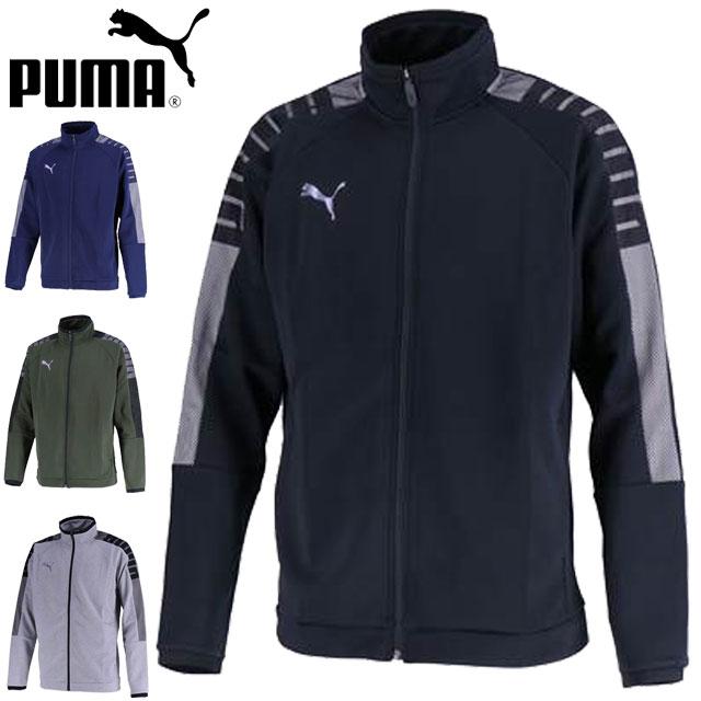 プーマ ジャケット メンズ WUPジャケット ジップジャケット 長袖シャツ ロングスリーブシャツ L/S シャツ ウエア トップス サッカー S-XXL トレーニングジャケット PUMA 656326