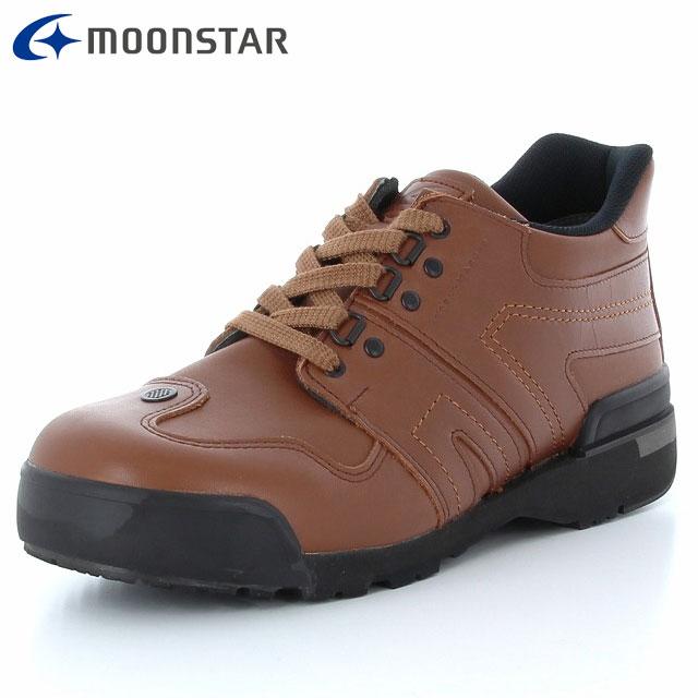 ムーンスター ウォーキングシューズ メンズ レディース ワールドマーチ プライド WM21C PRIDE EX ブラウン ハイスペック 48255042 MS 長距離を歩くための機能搭載 国産 快適な歩きやすさ