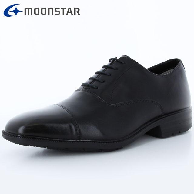 ムーンスター ビジネスシューズ メンズ SPH4611 ブラック 42293186 MS 防水×防滑タイプ 雨の日も快適 擦り減りにくい仕様 靴 3E