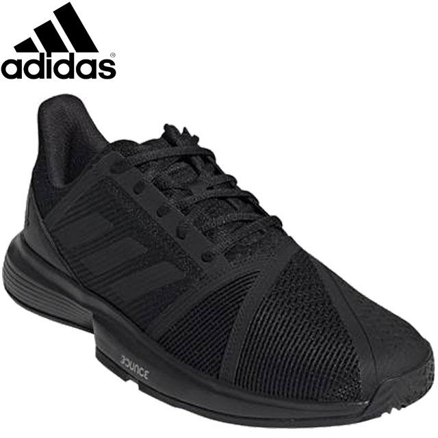 アディダス シューズ メンズ 靴 スニーカー COURTJAMBOUNCEM テニスシューズ マルチコート アドバンスプレーヤー 軽量性 クッション性 安定性 快適性 グリップ力 スライディング性能 オールコート テニス 用具 小物 アクセサリー 245-300 adidas EE4319
