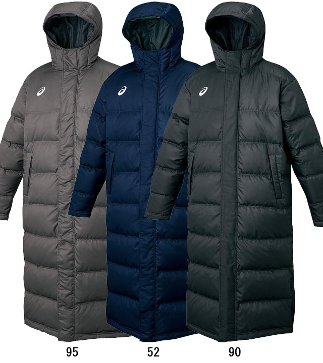 promo code 833f3 32f97 ASICS sports apparel sweaters XAW316 down coats warm wind is getting water  light UV care bench coat