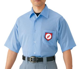 送料無料 MIZUNO 超歓迎された ミズノ 高校野球 即納 ボーイズリーグ審判員用 半袖シャツ ノーフォーク型