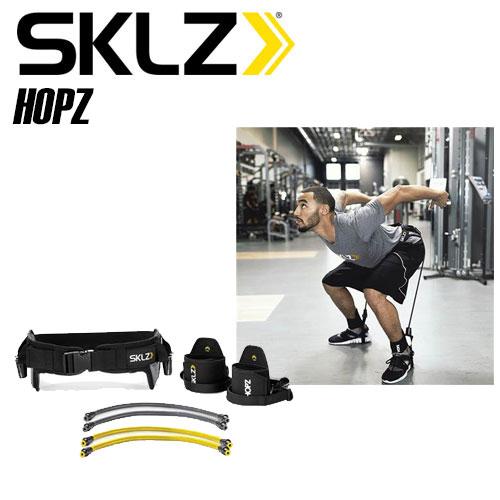 SKLZ HOPZ ジャンプ力を強化するトレーニングツール 強度2種類のケーブル入り トレーニングメニュー付 スキルズ 016942