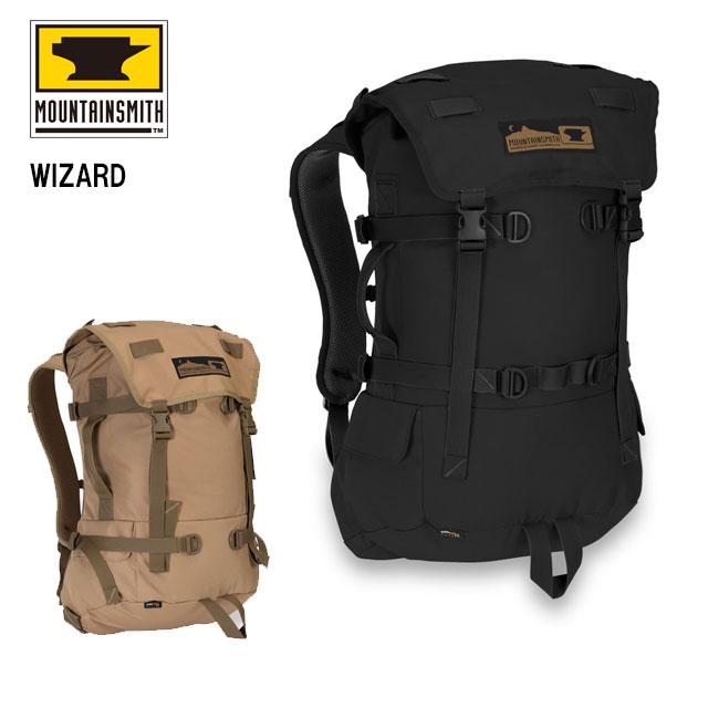 マウンテンスミス ウィザード WIZARD 週末のロードトリッパー用にデザインされたバックパック ノートPC用背面スリーブや小物用ポケット付きで整理整頓にも便利なバッグ Mountainsmith 40372