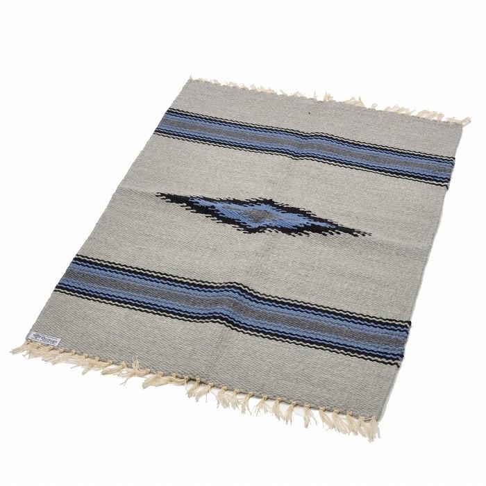 オルテガ (Ortega's) Chimayo Rug/チマヨラグマット[約81×66cm]GRAY