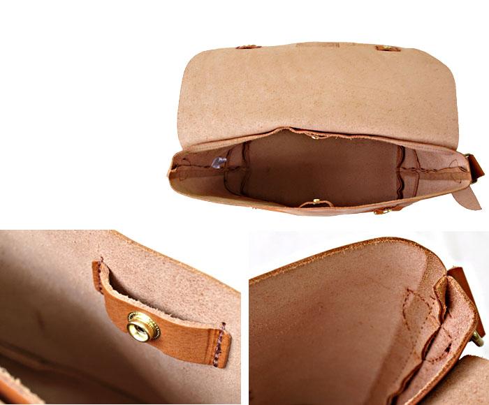 本革鞄レザーショルダーバッグ本革ヌメ革ラージショルダーバッグ/バトラーバーナー