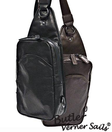 レザーボディバッグ 日本製 本革鞄 馬革 縦型 軽い 柔らかい 革 バッグ レザーバッグ / バトラーバーナーセイルズ ButlerVernerSails / ワンショルダーバッグ メンズ レディース 斜めがけ おしゃれ 軽量 30代 40代 50代 ファッション ブランド