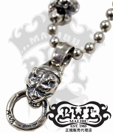 送料無料 BWL ビルウォールレザー Bill Wall Leather / Dog w/Ring Charm 【 メンズ レディース ジュエリー おしゃれ 敬老の日 】