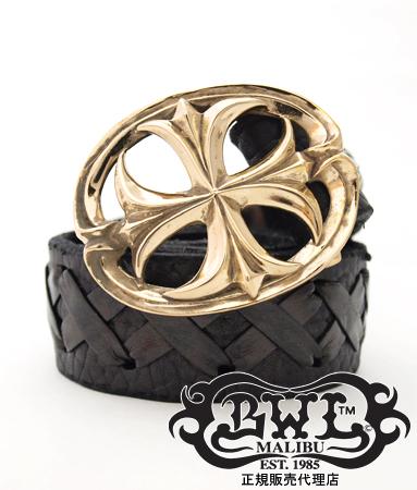 送料無料 BWL ビルウォールレザー Bill Wall Leather / ゴシック クロス ブロンズ バックル 【 メンズ ベルト ベルトバックル 銅 おしゃれ 】