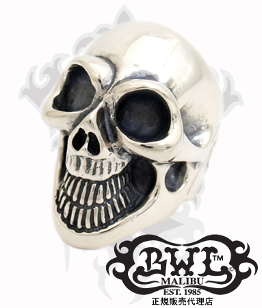 送料無料 BWL ビルウォールレザー Bill Wall Leather / シルバー925 リング 指輪 / マスター スカル リング (#as made) 【 メンズ レディース BWL指輪 シルバー おしゃれ 敬老の日 】