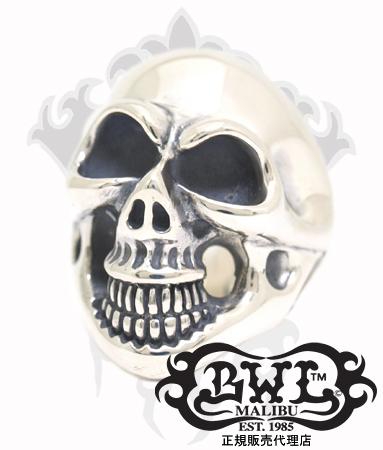送料無料 BWL ビルウォールレザー Bill Wall Leather / シルバー925 リング 指輪 / ミディアム マスター スカル リング 【 メンズ レディース BWL指輪 シルバー おしゃれ コロナ禍 】