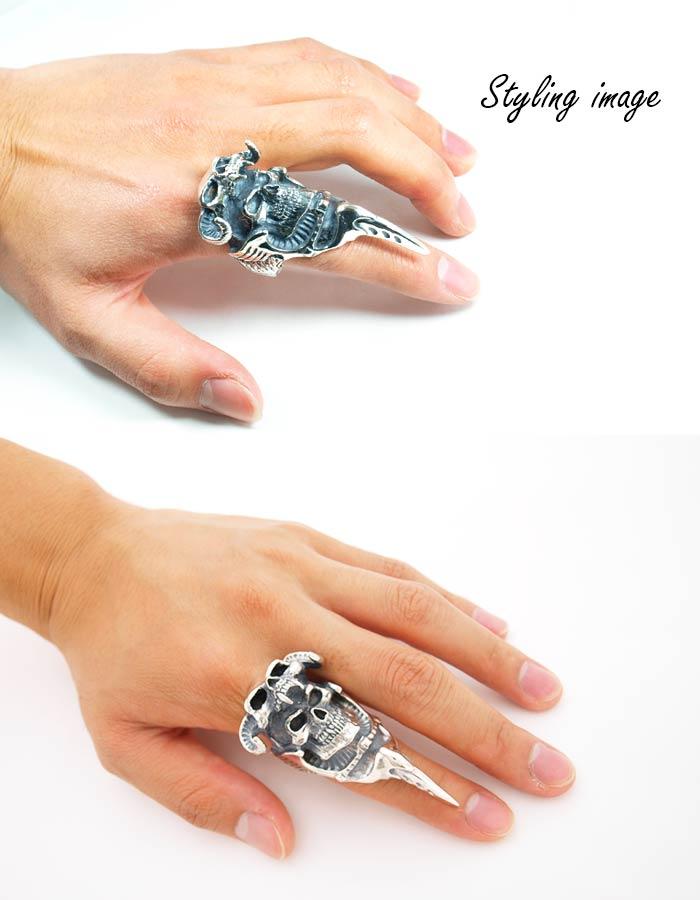 クレイジーピッグ 「正規販売認定店」 シルバー925 リング メンズ シルバーリング 指輪 / CRAZY PIG マッドマックスリング 【 正規品 指輪 メンズリング レディースリング おしゃれ かっこいい 人気 ブランド JAS刻印 】