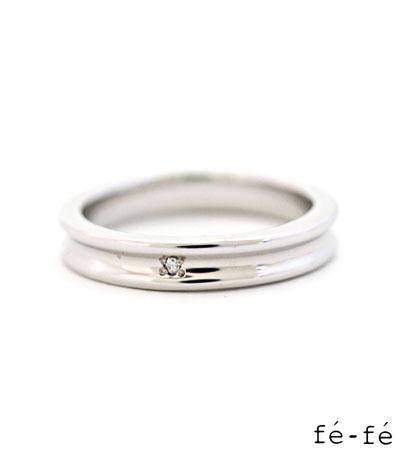 送料無料 シルバー925 リング 指輪 / fe-fe フェ-フェ/ ステンレスリング ライン レディース 【 fefe 指輪 スチールリング メンズ レディース リング おしゃれ 】