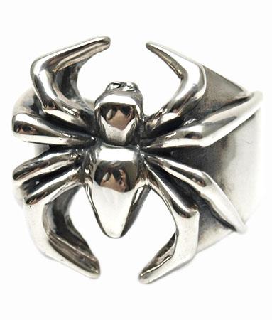 送料無料 シルバー925 リング 指輪 / キングリモ リング / ギャング スパイダー リング 【 蜘蛛 クモ 指輪 メンズ レディース リング おしゃれ 】
