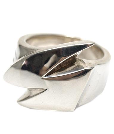 送料無料 シルバー925 リング 指輪 / キングリモ リング / サンダー ウォール リング 【 指輪 メンズ レディース リング おしゃれ 敬老の日 】