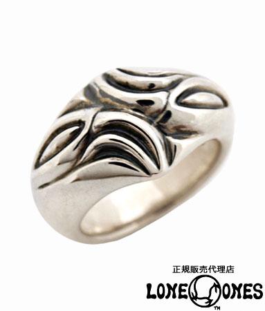 送料無料 シルバー925 リング 指輪 / LONE ONES ロンワンズ/ ラージカーブドシルクリング 【 エルワン カムホート ベル 鈴 指輪 メンズ レディース リング おしゃれ 敬老の日 】