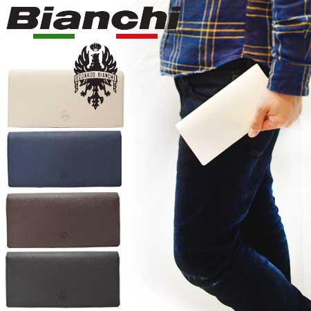 ビアンキ 長財布 日本正規品 Bianchi ビアンキ 本革 レザー 二つ折り財布 ロングウォレット 【 メンズ レディース 牛革 小銭入れ 札入れ おしゃれ シンプル とにかく 使い やすい 人気 カジュアル ビジネス カードがたくさん入る財布 20代 30代 40代 50代 ファッション 】