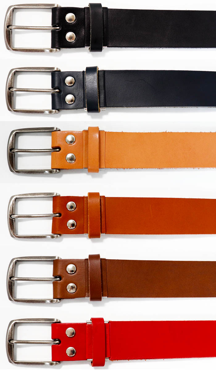 d4612004f6ea Length adjustment possibility leather three kinds eight colors development  40mm in width sail buckle leather belt made in genuine leather belt Tochigi  ...