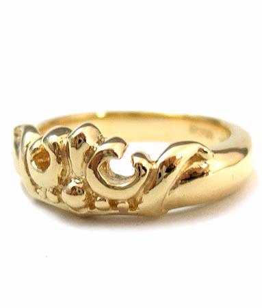 ロイヤルオーダー Royal Order 正規 ゴールド リング ロイヤルオーダー 指輪 送料無料 K18ゴールド/ マリークラウン バンド K18ゴールド リング gold ring 指輪 プライダルジュエリー メンズ レディース おしゃれ 18金 コロナ禍