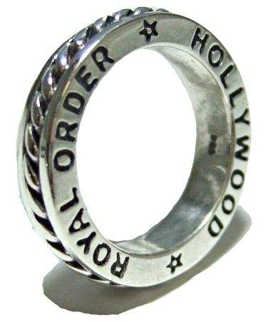 ロイヤルオーダー Royal Order 正規 リング ロイヤルオーダー 指輪 送料無料 シルバー925 / ロマン スペーサー リング 指輪 リング メンズ リング レディース おしゃれ ブランド