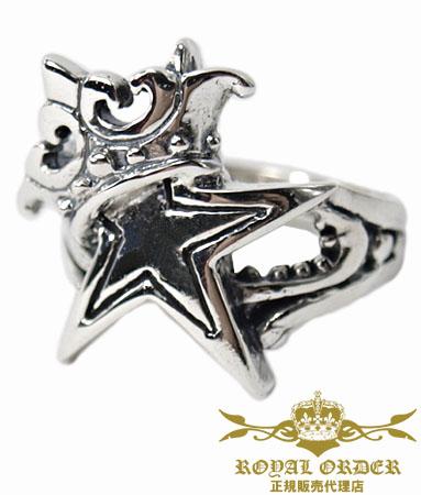 ロイヤルオーダー Royal Order 正規 リング ロイヤルオーダー 指輪 送料無料 シルバー925 / スター チャイルド リング 指輪 リング メンズ リング レディース おしゃれ ブランド