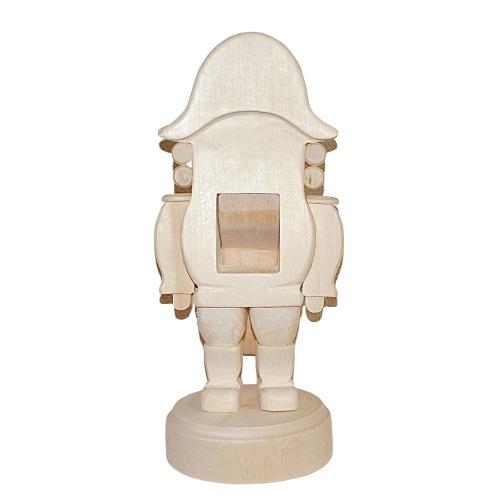 インテリアにも「クルミ割り人形 大サイズ24.5cm」【マトリョーシカ】おもしろい形の白木材料
