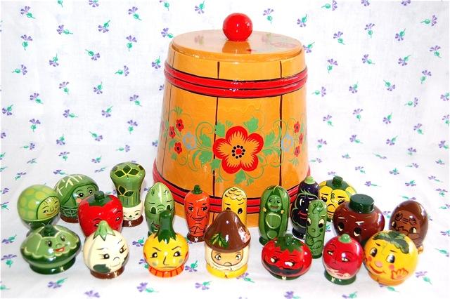 フルーツバスケット ~奇妙なフルーツと野菜20個の供宴~