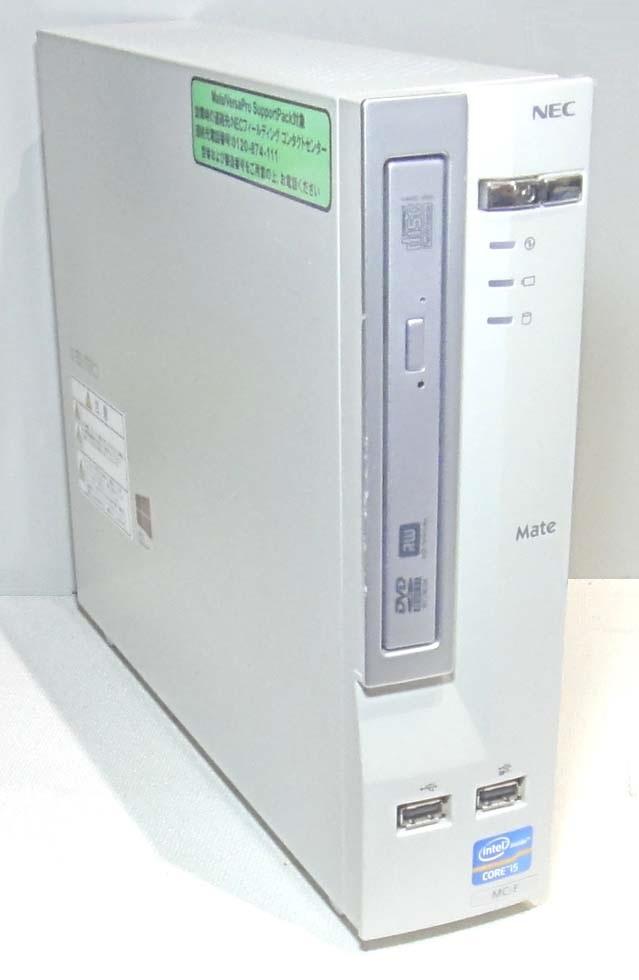 NEC コンパクト デスクトップPC MK26M/C-F Corei5 3320M/4GB/250GB/DVDMulti//Win10x64