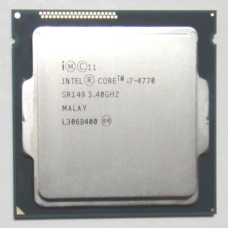 【中古】Core i7 4770 3.4GHz SR149 LGA1150 Intel CPU