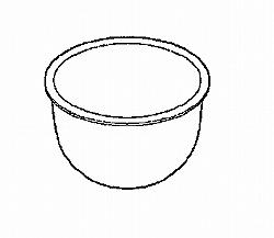 日立 ジャー炊飯器用内釜 RZ-HF18E5J 001