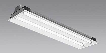 三菱電機 直管形LEDランプ搭載ベースライト Lファインecoシリーズ 埋込形 <2灯用>照明器具 昼白色 EL-LFB45702 AHX(26N)
