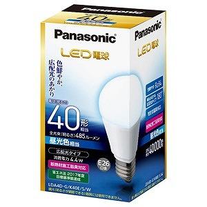 【在庫あり】 パナソニック LED電球 LDA4DGK40ESW 広配光タイプ 40W形相当 昼光色相当 全光束485lm E26口金 送料無料