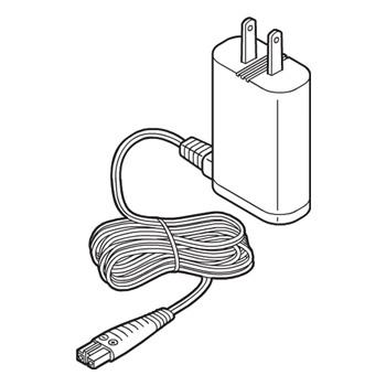 小型宅配便またはレターパック 品質保証 あす楽 実物 在庫あり 音波振動ハブラシ用アダプター パナソニック ESWH81W7657