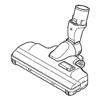 【在庫あり】 パナソニック 掃除機用 床用ノズル AMV85P-9Q0H