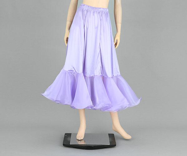 社交ダンス/社交ダンス衣装/衣装/社交ダンスインナー/インナー/パニエ/ウェア/ダンスウェア/パニエ/ライトパープル 紫