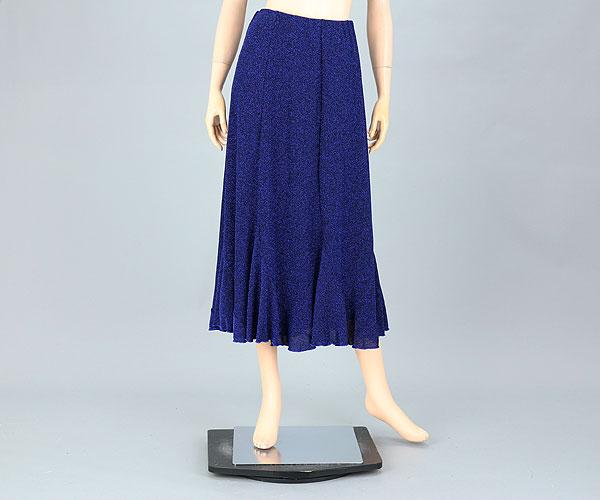 社交ダンス/社交ダンス衣装/衣装/スカート/ウェア/ダンスウェア/フリーサイズ/青 ブルー