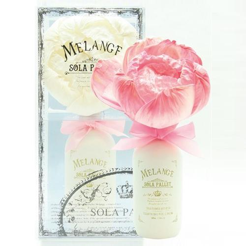 送料無料 アロマの香りで癒しを フラワーディフューザー 母の日 ギフト 買物 プレゼントなどに SOLA ソラパレット より取り2色セット PALLET ブルーミングディフューザー MELANGE メランジェ 激安通販