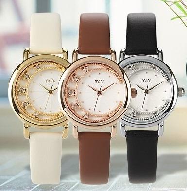 送料無料 新着セール 期間限定お試し価格 3Dデコウォッチ MINI デコウオッチ スター かわいい 3D 腕時計 レディース メルヘン