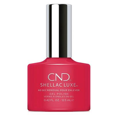 カラーとトップコートの簡単2ステップ CND Shellac #158 初回限定 最新アイテム ワイルドファイヤー Luxe