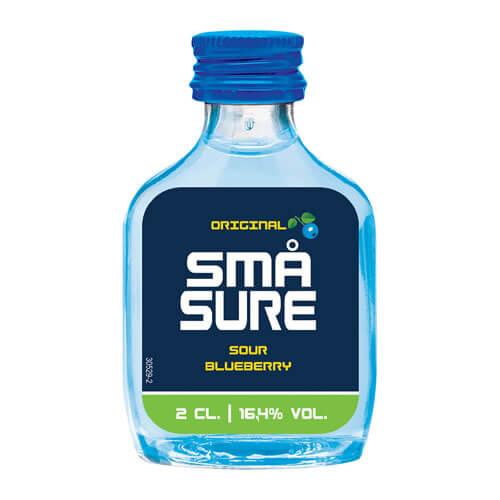 SMAショット(スマショット) ブルーベリー 20ml リキュール フレーバードウォッカ デンマーク smashots 長S