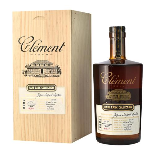 ラム クレマン 2002 レアカスクコレクション FOR JIS 500ml 52.8度 Rhum Clement Rare Cask Collection RUM ラム酒 スピリッツ 虎S