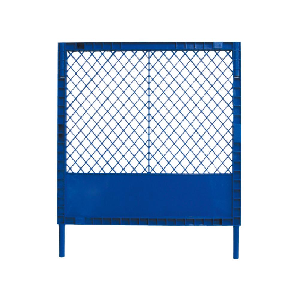 安心と高品質の国内生産品です。 プラスチックフェンス(青) H1200×W1000 プラフェンス ガードフェンス