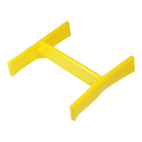 【10個セット】H鋼先端ソフトガード 300H鋼 黄 養生材 アラオ AR-1093