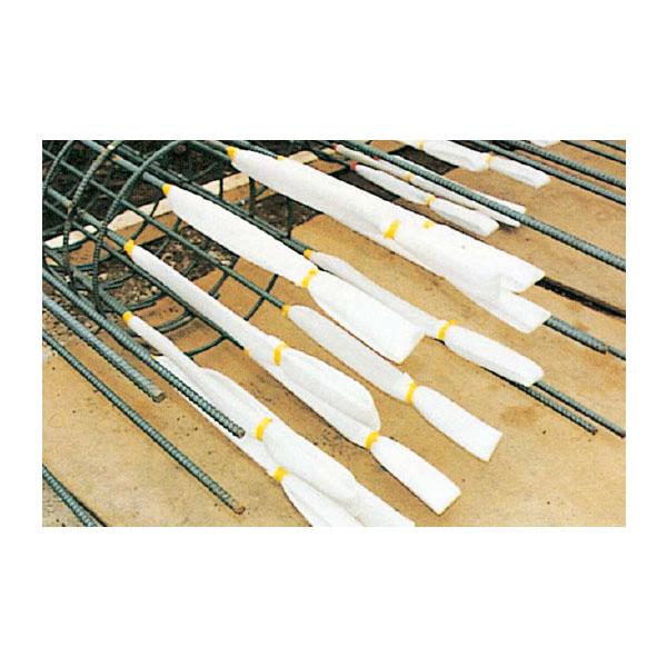 【1000本セット】スポンジカバー(鉄筋ハツリ用) 白 アラオ AR-3561