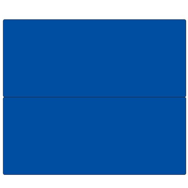 フラットパネル法定表示板(ブルー無地) 4点用2段型  HR-154CW