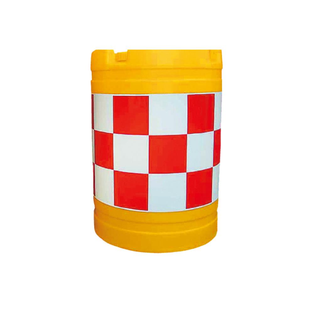 クッションドラム 丸型 赤白 水袋5個入り
